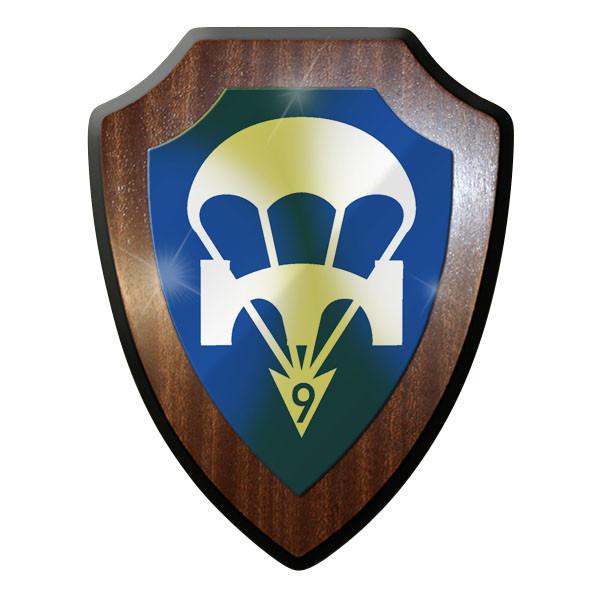Wappenschild - Luftlandepionierkompanie 9 LLPiKp Bundeswehr BW Abzeichen #9044