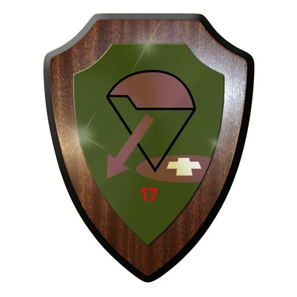 Wappenschild - Fsch AufKl Kp 17 KSK Fallschirmspringeraufklärerkompanie #11906