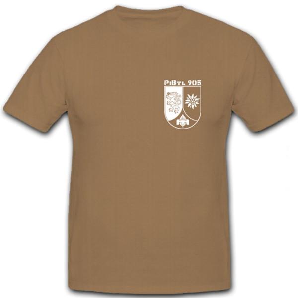 PiBtl 905 Pionierbataillon Pioniertruppe Bundeswehr Wappen - T Shirt #5804
