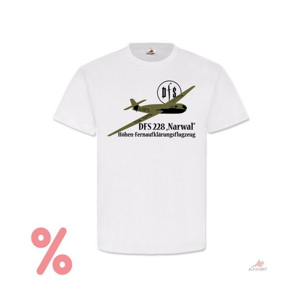 SALE Shirt DFS 228 Narwhal Research Station Gliding Experimental T-Shirt # R315