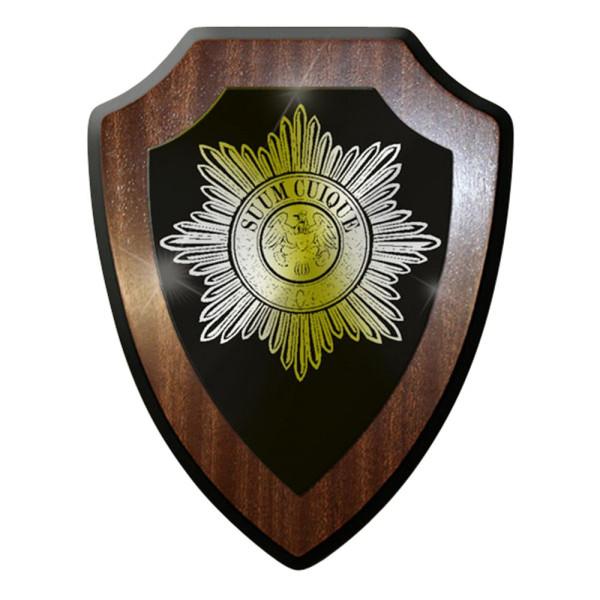 Wappenschild / Wandschild / Wappen - Suum Cuique Militär Militärpolizei #7077