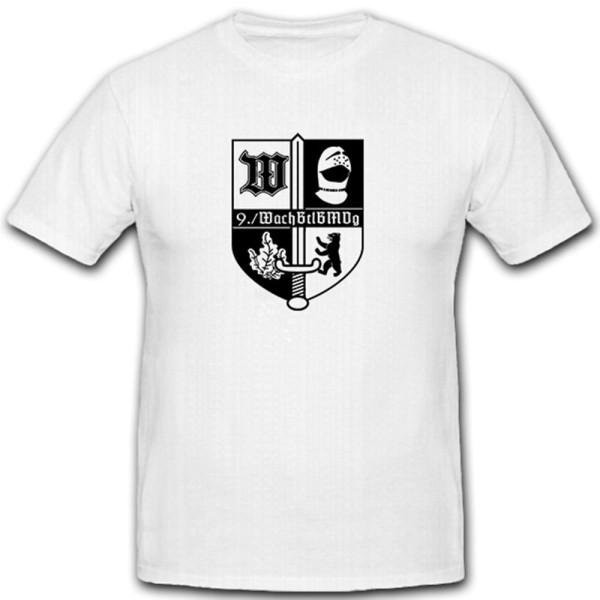 9 WachBtlBMVg - Wach Bataillon Bundesverteidugungs Militär - T Shirt #12080