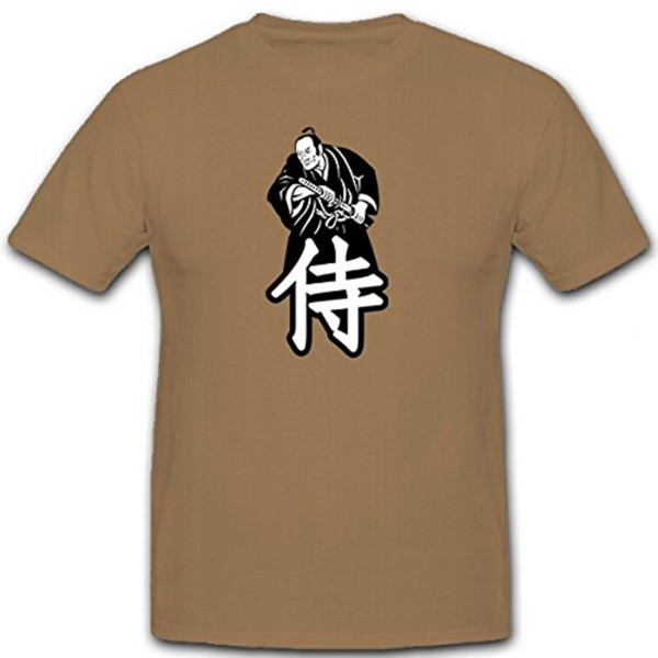 Japan warrior fighter martial arts honor tradition Japanese - T shirt # 11150