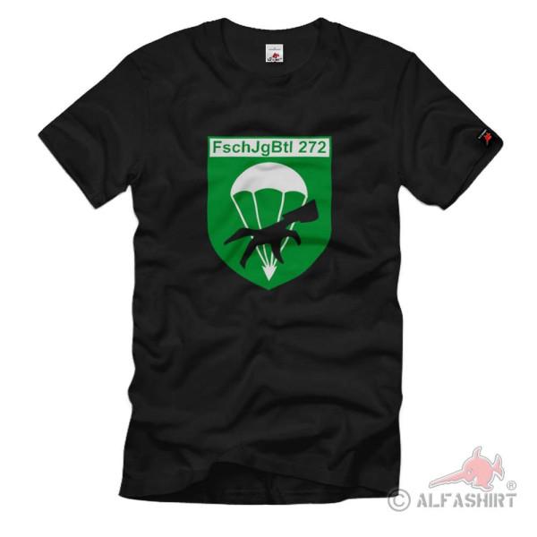 FschJgBtl 272 Paratrooper Battalion Wildeshausen BW Coat of Arms - T Shirt # 1422