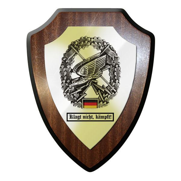 Wappenschild - Klagt nicht, kämpft! Fernspähtruppe FspKp Kompanie Bw - #11755