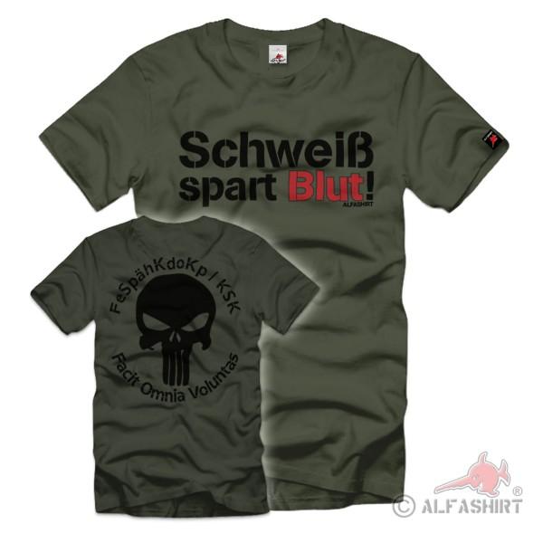 FeSpähKdoKp KSK Facit Omnia Voluntas Bundeswehr T Shirt #35420