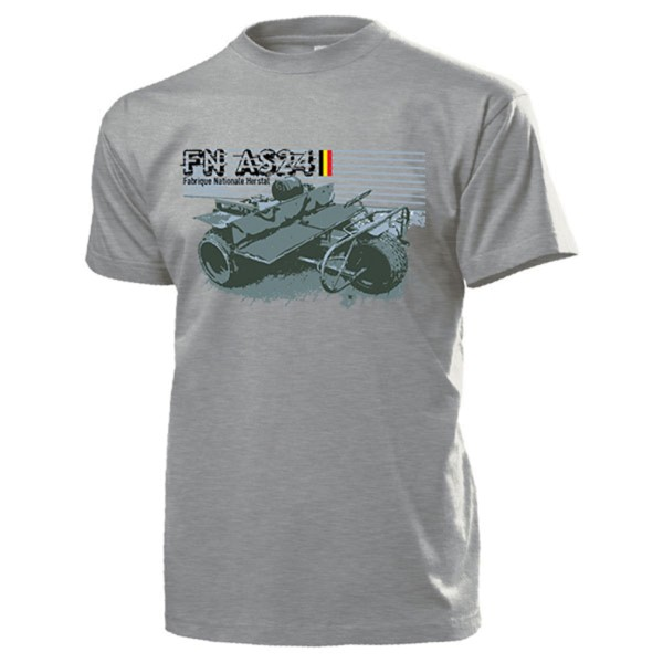 FN AS24 Fabrique Nationale Herstal Belgische Armee Tricycle - T Shirt #13331