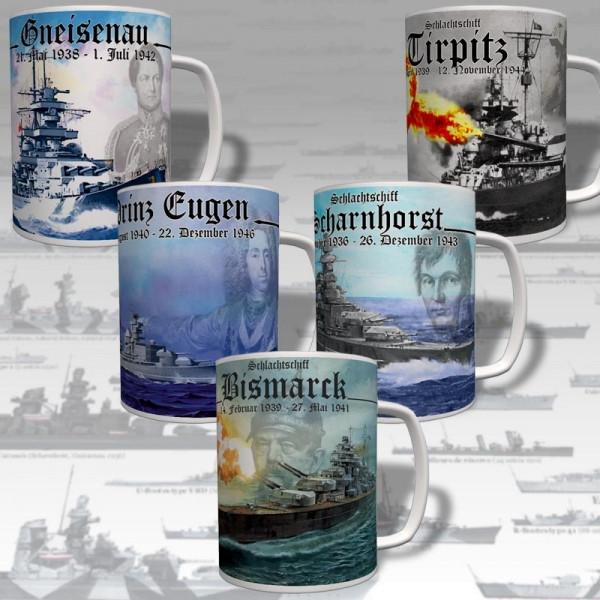 Battleship Cup Set Super Collector Savings Set # 16982
