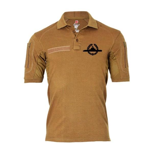 Tactical polo shirt Alfa - U Boat Badge BW Submarine Federal Navy # 19295