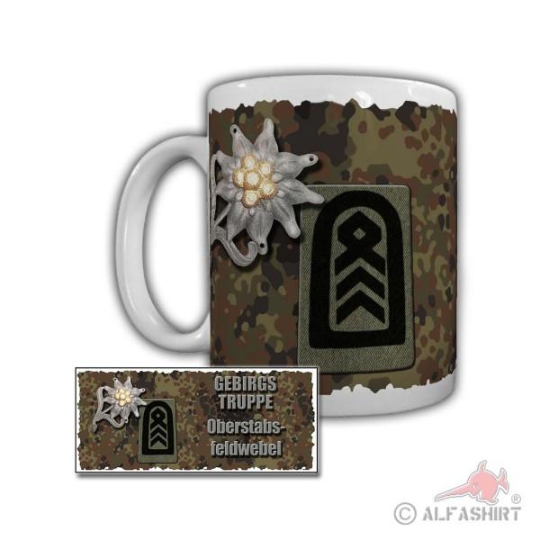 Tasse Gebirgstruppe Oberstabsfeldwebel Gebirgsraketenartillerie 82 #29597