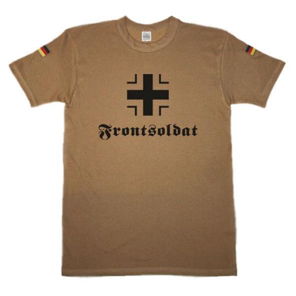 BW Tropen Frontsoldat Blakenkreuz deutscher Soldat Tropenhemd Tropenshirt #14422
