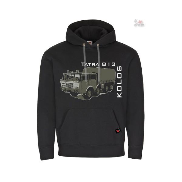 Hoodie Tatra 813 Kolos LKW 8x8 Armee Oldtimer Tschechien Pullover Pull #36246