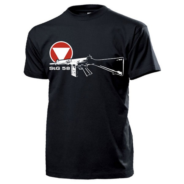 StG 58 Gewehr Bundesheer Österreich Sturmgewehr Exerzierwaffe - T Shirt #14291