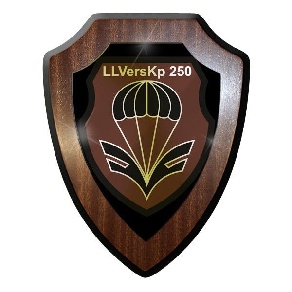 Wappenschild - Luftlandeversorgungs Kompanie LLVersKp 250 Bw Bundeswehr #9037