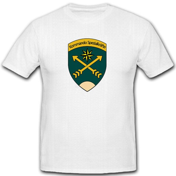 KSK Command Special Forces Formation Special Forces Military - T Shirt # 10252
