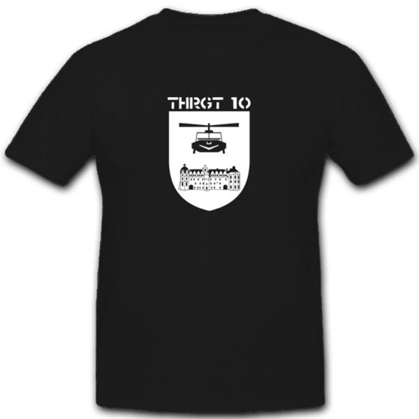 Transport Hubschrauber ThRgt 10 Bundeswehr Wappen Abzeichen- T Shirt #3649