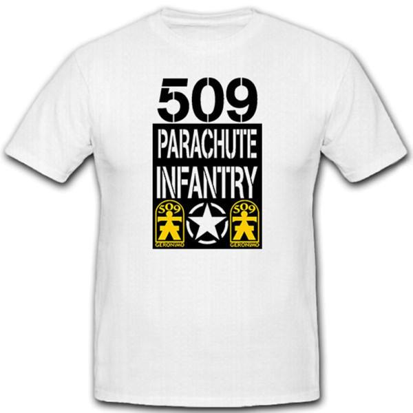509th Parachute Infantry Infanterie Fallschirmjäger US United - T Shirt #12218