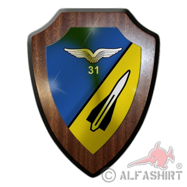 FlaRakBtl 31 Hawk Bundeswehr Luftwaffe Militär Abzeichen Wappen Schild #36014