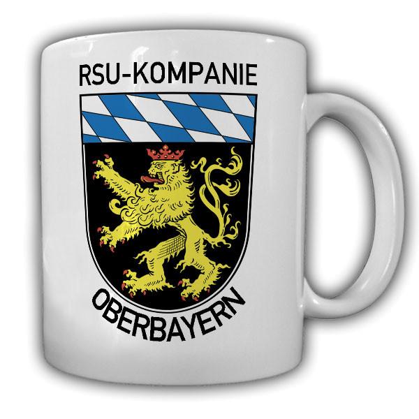 RSU Kp Oberbayern Regionale Sicherungs- und Unterstützungskräfte - Tasse #14874