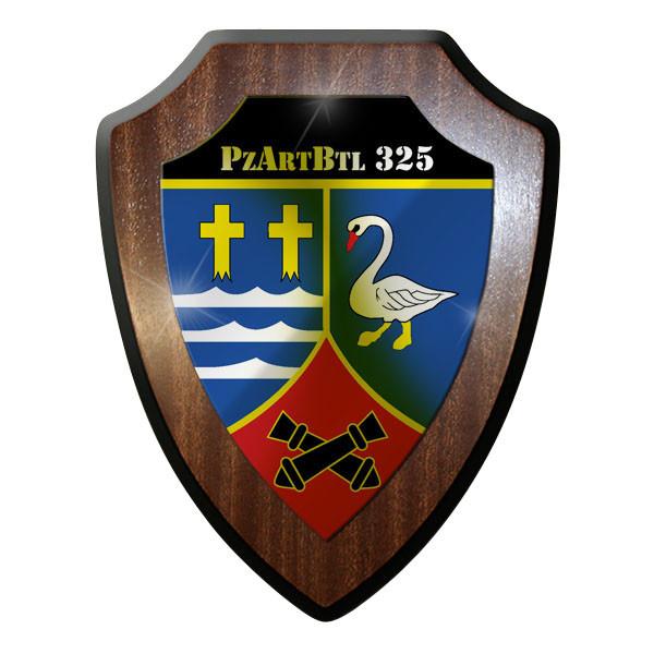 Wappenschild - PzArtBtl 325 Panzerartilleriebataillon Panzer Wappen #8880