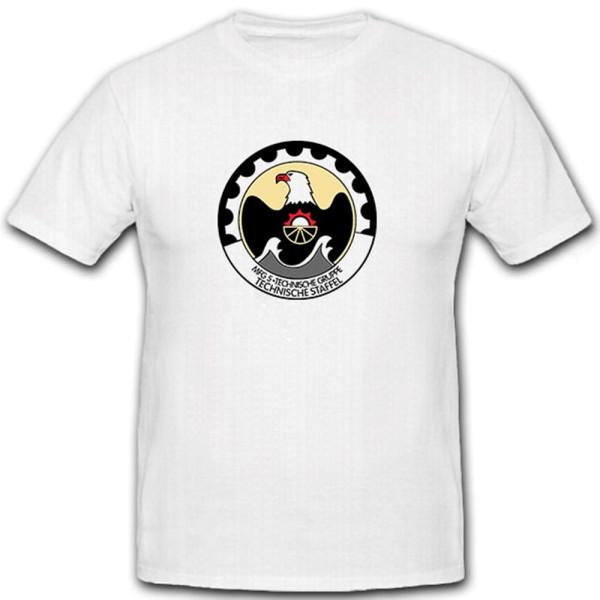 MFG 5 Technische Gruppe Technische Staffel - T Shirt #6801