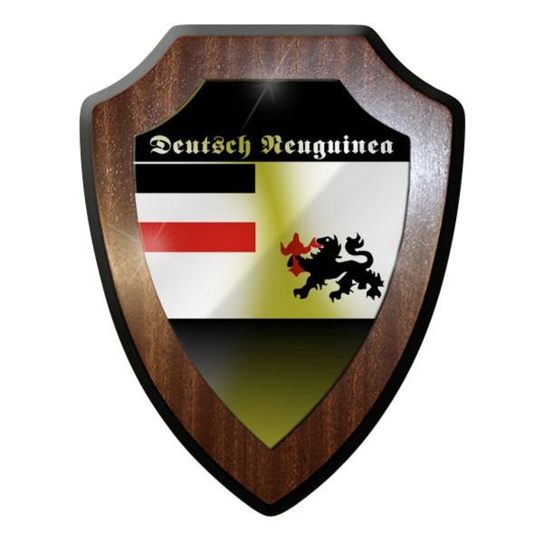 Wappenschild / Wandschild / Wappen - Deutsch Neuguinea Papua-Neuguinea #8851