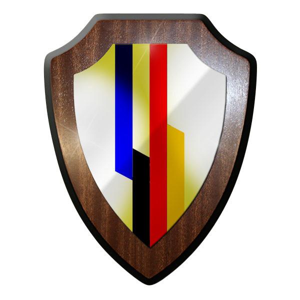 Wappenschild - Deutsch Französische Brigade Brig Eurocorps Emblem #8835