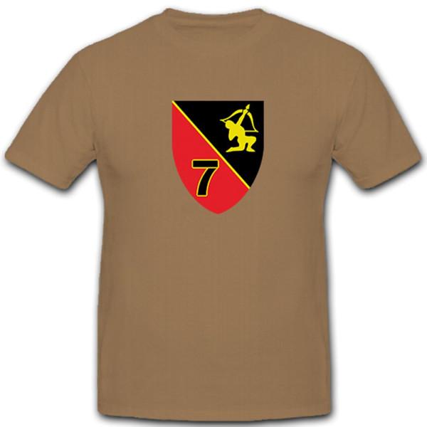 7. FlaRgt6 7. Batterie Flugabwehrregiment Lütjenburg Flugabwehr T Shirt #5072