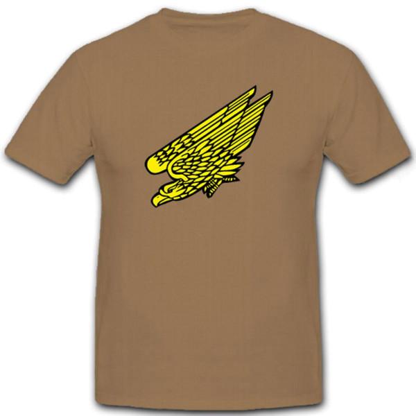 Fallschirmjäger Adler Wappen Abzeichen Emblem Symbol Falli - T Shirt #6769