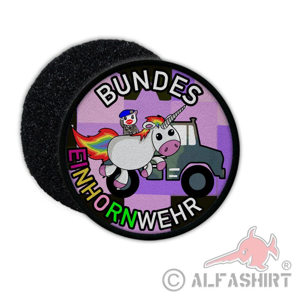 bundeseinhornwehr einhorn bundeswehr parade fun unicorn