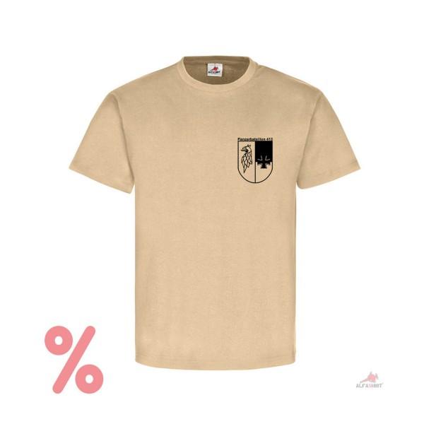 SALE Shirt Brustabzeichen Pzbtl 413 Torgelow Bundeswehr Panzer - T-Shirt #R301