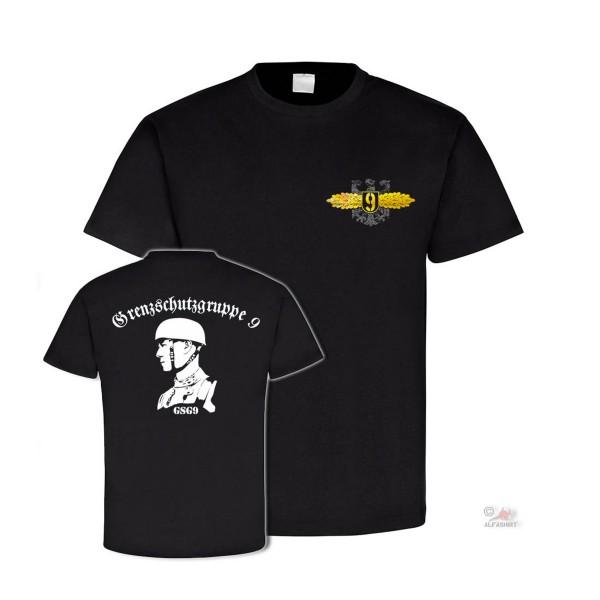 Grenzschutzgruppe 9 Soldaten Spezialeinheit Abzeichen Gsg 9 - T Shirt #4142