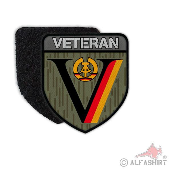 Patch NVA DDR Veteran Dienstzeit Strichtarn Reservist Nationale Aufnäher#36642
