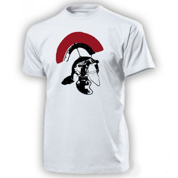 Römerhelm Legionäir Helm-Rom Legionär Cassis - T Shirt #14261