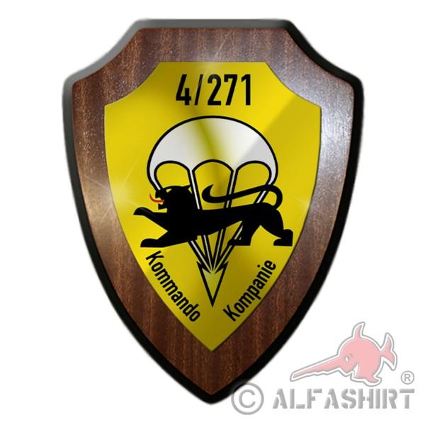 Wappenschild 4 FschJgBtl 271 Kommando Kompanie FschJg Bataillon BW #36208