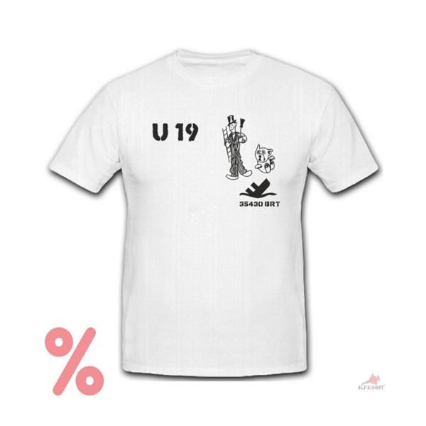 SALE Shirt U 19 Boat Marine Untersee Chimney Sweep - T Shirt # R751