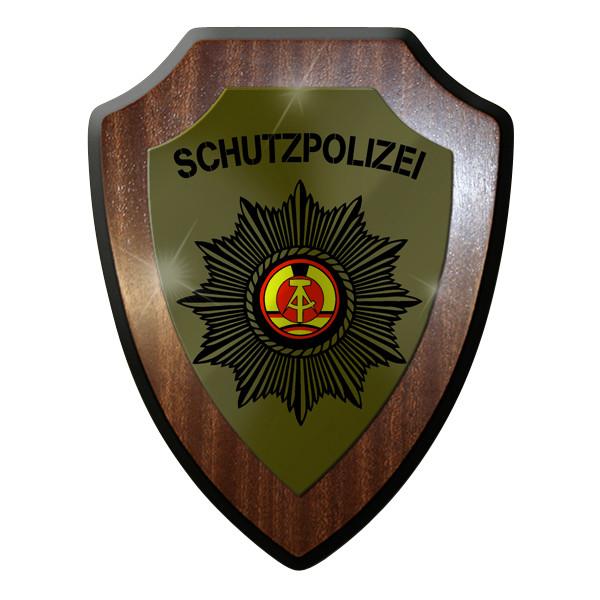 Wappenschild- Schutzpolizei Polizei DVP DDR deutsche demokratische Republik#9289