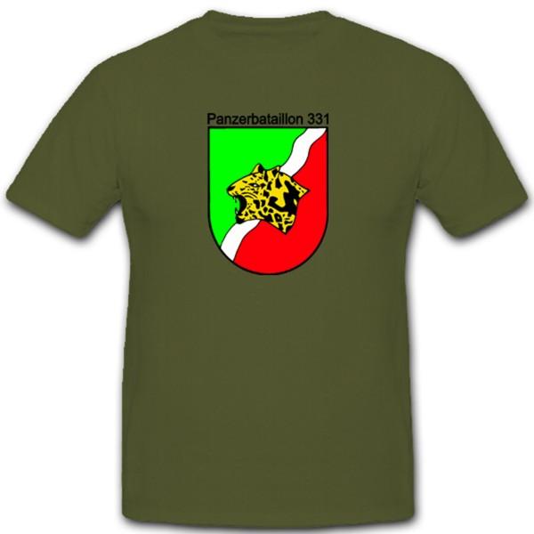 Panzerbataillon 331 Bundeswehr Panzer Pzbtl331 Wappen Logo Celle Abzeichen - T Shirt #1284