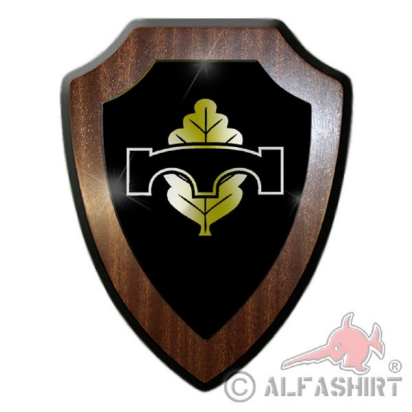 Heraldic shield / wall shield - Pioneer Badge Bundeswehr Forces Armed Germany Army Soldier Military Unity Emblem # 18882