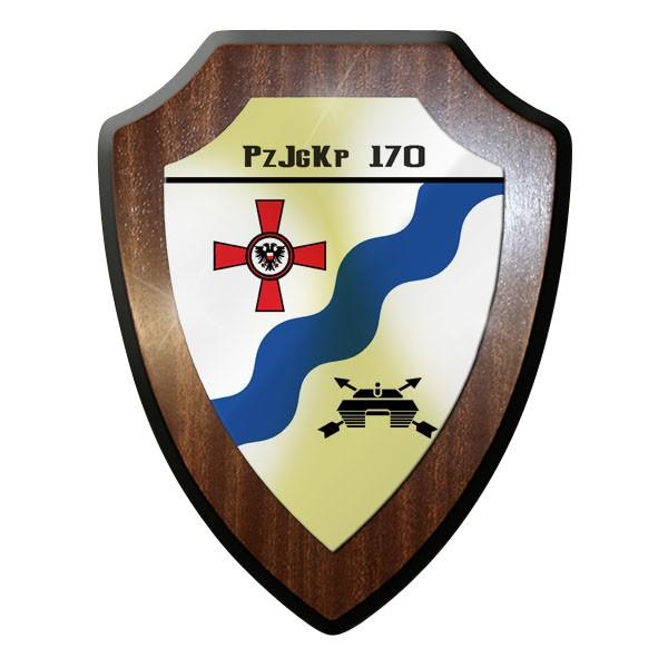 Wappenschild / - PzJgKp 170 Panzerjäger Kompanie 170 Bundeswehr Bund - #11745