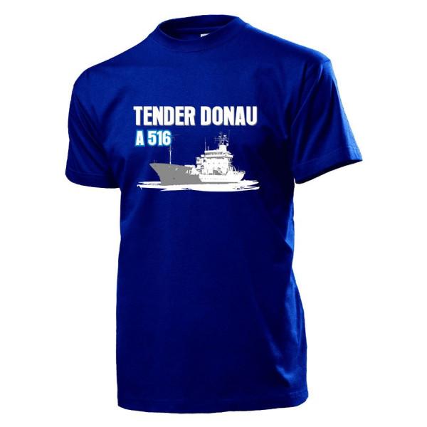 Tender Donau A 516 Marine Bundeswehr Bund Bw Schiff - T Shirt #12833