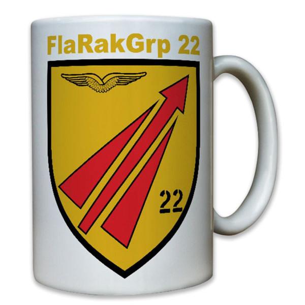 FlaRakGrp 22 Flugabwehrraketengruppe Rakete Bundeswehr Bw Nato - Tasse #8209