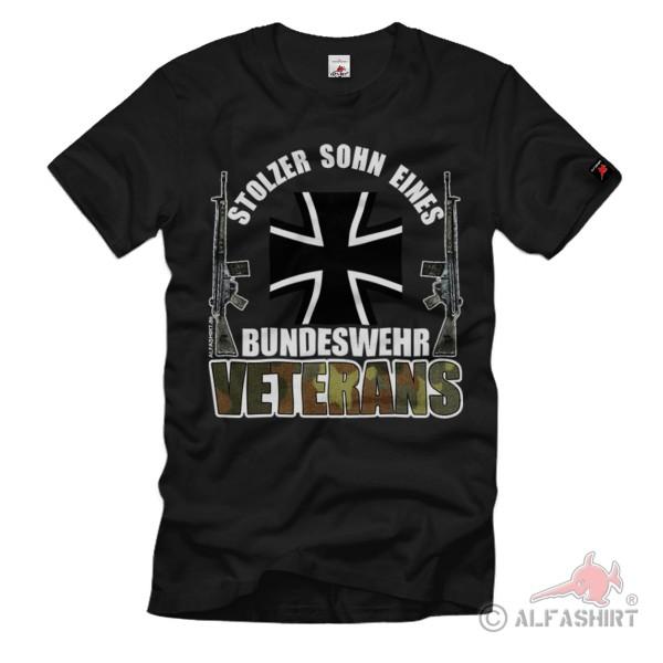 Proud son of a Bundeswehr veteran BW soldier use Balkan T-Shirt # 36193