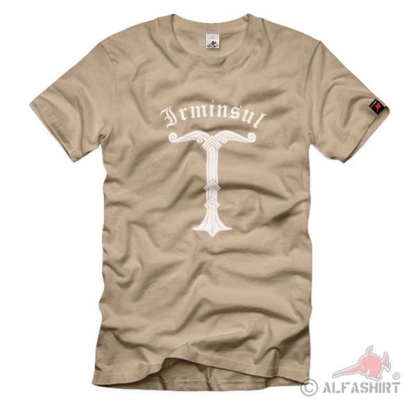 Irminsul Tree of Life Sanctuary of the Saxons Teutons Vikings - T Shirt # 125