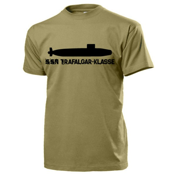 SSN Trafalgar Klasse Atomgetriebenes Jagd U-Boot britische - T Shirt #13192