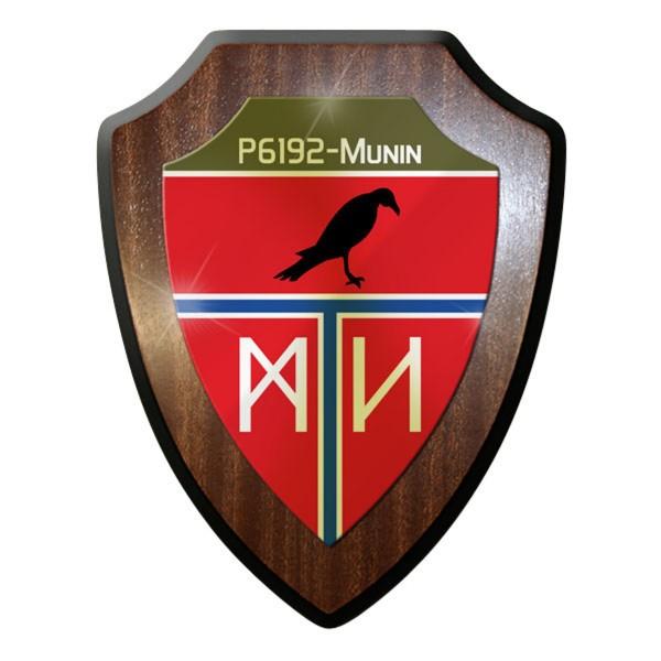 Wappenschild - P6191 MUNIN 1. Schnellbootgeschwader Bundeswehr #11628