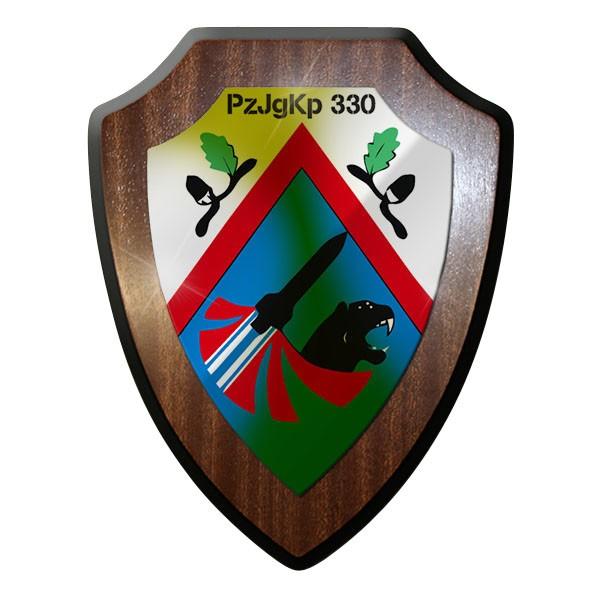Wappenschild / Wandschild - PzJgKp 330 Panzerjägerkompanie Panzer Jäger - #12097