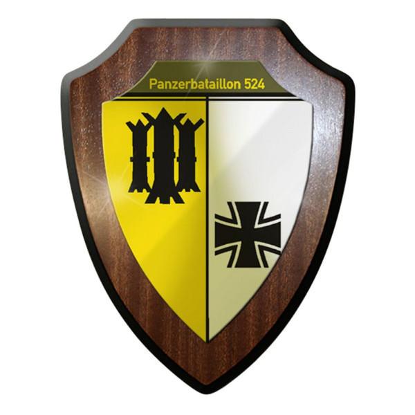 Wappenschild / Wandschild / Wappen - Panzerbataillon 524 PzBtl Panzer Heer #8346