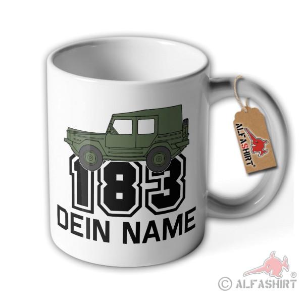 Tasse Iltis 183 Personalisiert Dein Name Geländewage LKW 0,5 t tmil gl #36172