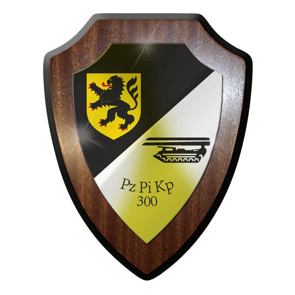 Wappenschild - PzPiKp 300 Panzerpionierkompanie Panzer Pioniere #10016